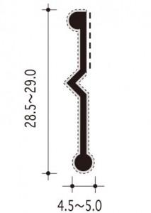 #38-Tの断面、寸法