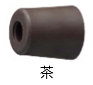 戸当りゴムD-187-25(茶色)