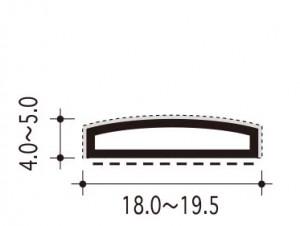 #26-k-1の断面、寸法