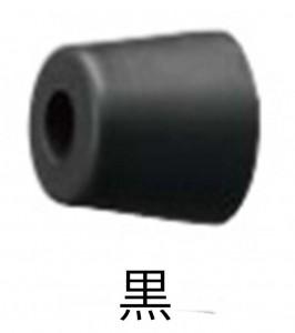 戸当りゴムD-187-20(黒)