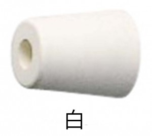 戸当りゴムD-187-30(白)